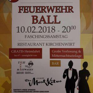 Ball der Freiwilligen Feuerwehr Maria Schutz @ Restaurant Kirchenwirt